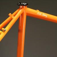 Custom Steel Personal Blend Frame w/ Custom 3 Color Fade Liquid Paint