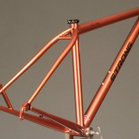 Custom Steel Road Frame w/ Custom Liquid Paint