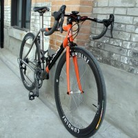 """Been dreaming about getting a custom road bike for years and finally took the plunge in July 2009. I went through a few builders and Carl was chosen based on his expertise with Ti and steel. The bike was finally build up in Feb 2010 but because it's still freezing here in Shanghai at that […]"