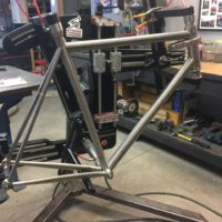 Titanium Road Race Frame
