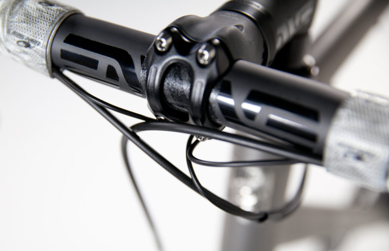Titanium Road Bicycle with Shimano Dura Ace 9100 Di2.