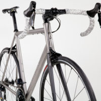 Titanium Road Bicycle with Shimano Dura Ace 9100 Di2.