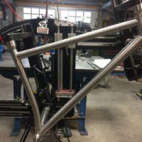 Titanium 29er MTB Single Speed with Sliders