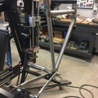 Custom Blend Steel Road Frame
