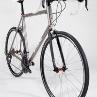 Custom Blend Titanium Road with Long Reach Brakes