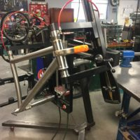 27.5 Plus Titanium Mountain Bike