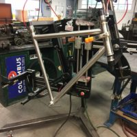 Custom Titanium Gravel Road Bike