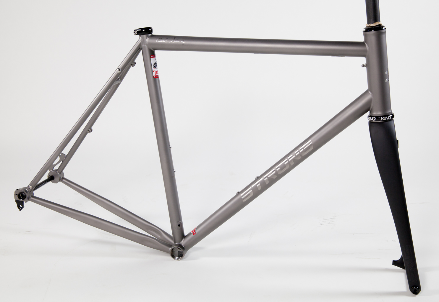 Strong Frames Custom Titanium Gravel Road Frame