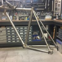 Titanium All-Road with Disc Brakes and Shimano Di2