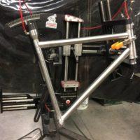 Titanium Road Bike, Rim Brakes, QR Dropouts