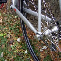 "Having enjoyed my 3-year old Strong ti bike, ""Trigger"" I figured it needed a stable mate from the country, one that would enjoy rainy days and rough roads. So Trigger has now been joined by ""Silver"", a new steel frame with clearance for fenders or fat gravel road tires. Carl's ""custom blend"" for this bike […]"
