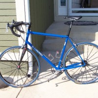 This is my second frame from Carl and I couldn't be happier. It's designed for someone 6'5″ 230 pounds who races Cat 4 for fun. My first frame was a similar design made by Carl from Columbus Max tubing, but I think this one is actually much better balanced. I believe it is a mix […]
