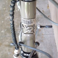 An unseen crack in my carbon fork caused it to fail on a steep assent sending me face first into the pavement. Luckily, I was not on a descent, or it could have been much worse. When I got up off the ground, my 9 year old, steel Strong had taken the full brunt of […]