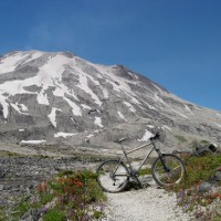 Just wanted to say I love it, my riding has improved due to it as well. I get lots of looks and compliments on the trail. Heres a couple pictures I recently took near Mt. St. Helens in Washington, thought you'd appreciate them