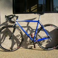 I have always wanted a great steel bike. I called Carl and asked him if he could build me the bike I wanted: a quick, light STIFF frame that would climb and sprint. What I received seems to be the impossible. I built this up and took it for its first ride last weekend. Misty, […]