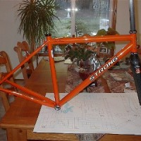 Custom blend of S3 and Life, Cyclocross frame. It's beautiful.