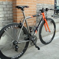 """""""Been dreaming about getting a custom road bike for years and finally took the plunge in July 2009. I went through a few builders and Carl was chosen based on his expertise with Ti and steel. The bike was finally build up in Feb 2010 but because it's still freezing here in Shanghai at that […]"""