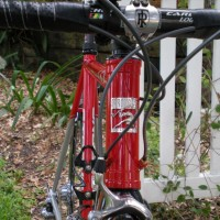 Carl and Lorretta: I'm finally getting around to sending you some pictures of the finished bike I built up from the frame Carl built for me and delivered in November, 2009. I've put around 2,800 miles on the bike since it was built, which isn't too bad since I only ride it on weekends and […]