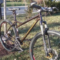 Custom geometry steel by Carl, 29'er wheels by George at Speedgoat, and the details from my LBS add up to the best hardtail ride one could experience. The welds and finish are impeccable, and the blend of tubing makes for a ride that is both stiff and compliant. Like the bike I rode in the […]