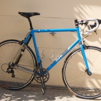 Hi Carl, The bike came out exactly as I'd hoped. The frame is beautiful, and the fit is dead-on. The XCr is impressive–the build comes in at 18lbs on the nose (in the garage door photos, without the frame pump), which is great for steel frame & fork. I've put a couple hundred miles on […]
