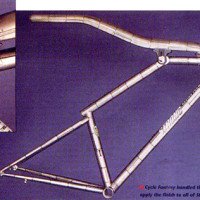 """Hot Tubes Carl Strong BY ALAN COTE To a framebuilder the essence of a bicycle could he any number of things: a kinetic sculpture, a continuation of an artisan tradition or a marvel of engineering. Carl Strong concentrates his work on another bicycle quality. """"What I've tried to focus my bike on is performance exclusively, […]"""
