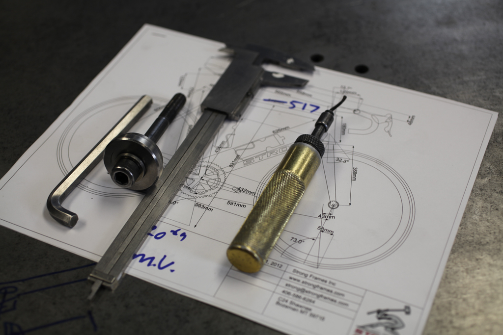 Your frame is drawn on BikeCAD Pro. BikeCAD Pro allows us to design the frame elements we discuss in the design phase as well as incorporate all the parts that will be used when the bike is assembled. This guarantees that all touch points will fall where they have been designed to. To ensure accuracy, […]