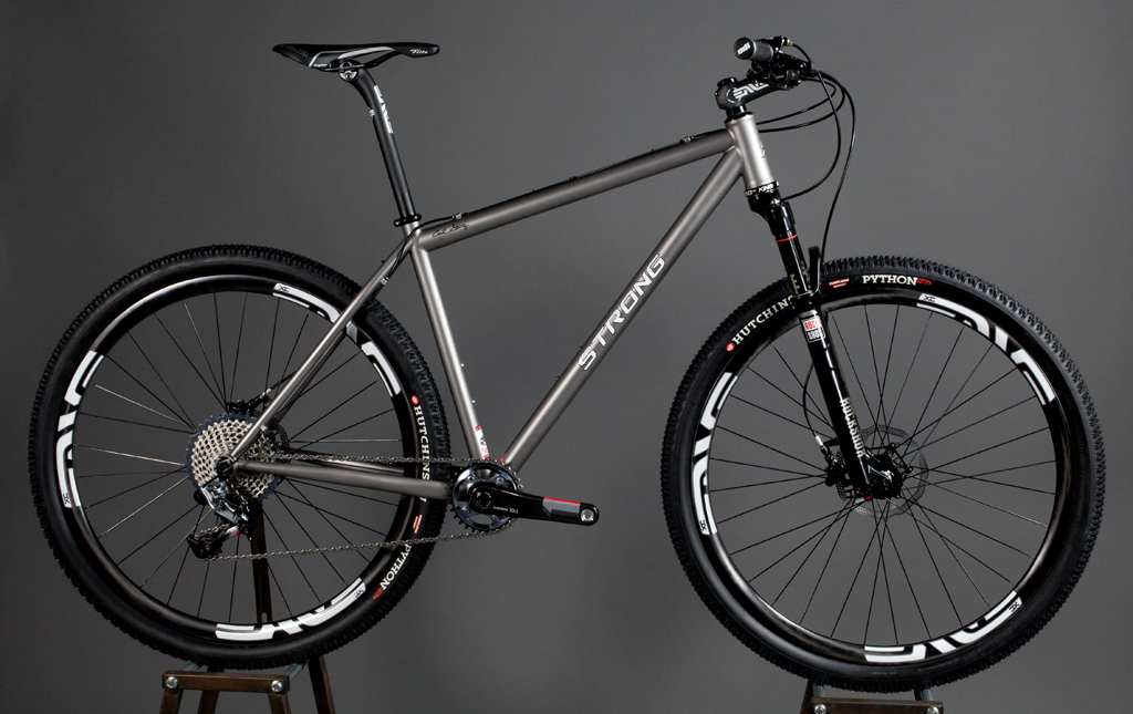 Strong Frames Titanium 27 5 Quot Plus With Sram Eagle And Fox 34