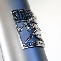 Custom Blend titanium gravel bike with Enve GRD fork.
