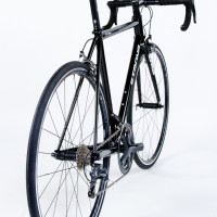Custom Blend steel road bikes with Ultegra 6800, Ritchey cockpit and wheels and Enve fork.