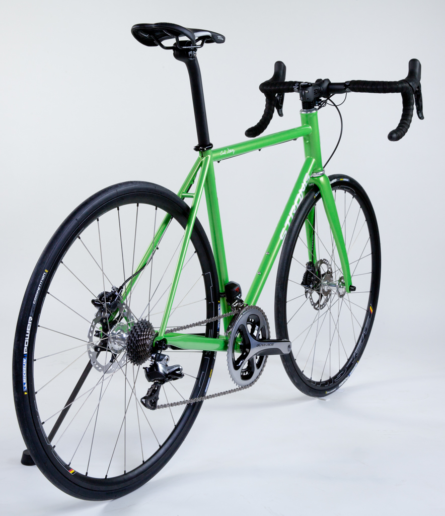 Strong Frames | Dave M - Custom Blend Steel Disc Brake Road Bike ...