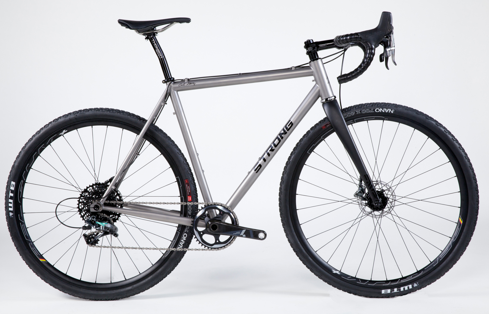 Strong Frames Peter H Titanium Gravel Road Bike With Sram
