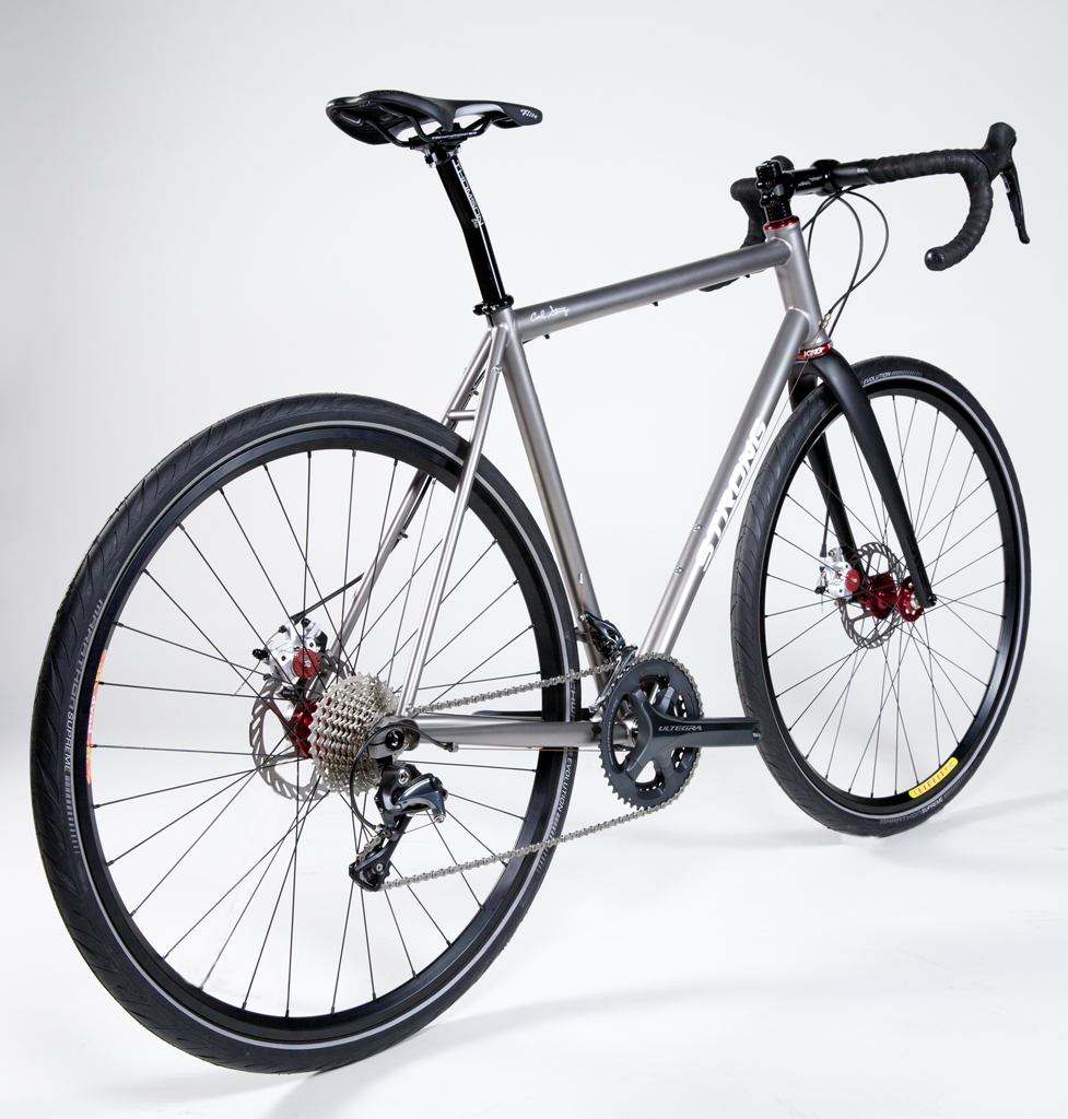 Strong Frames | Mike D - Titanium Disc Brake All-Road Bicycle