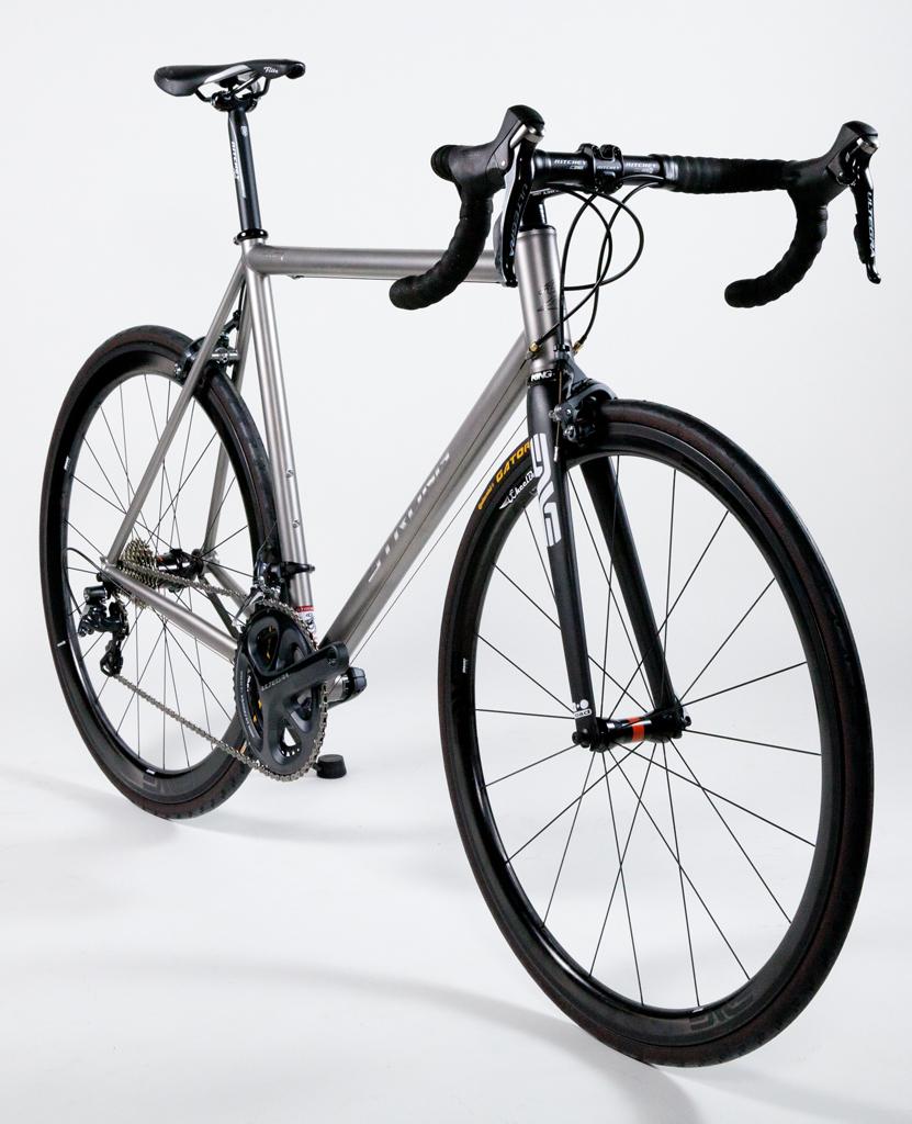 Mike M - Classic Titanium Road Race Bike