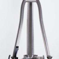 Custom Blend titanium 29er single speed MTB. Can also set up for rear derailleur.
