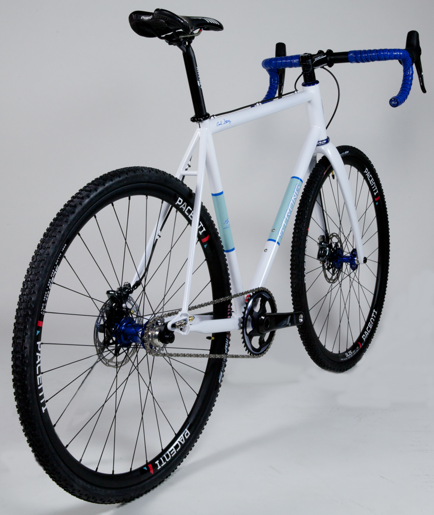 Strong Frames   Marc E - Steel Single Speed Cyclocross Bike with ...