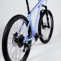 Custom Blend titanium 26″ MTB.