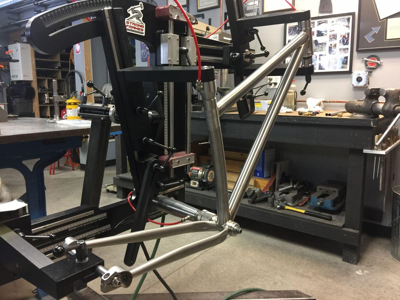 Strong Frames Joel T Titanium 27 5 Quot Plus Mountain Bike