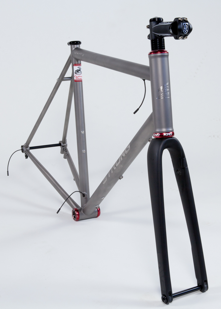 Strong Frames Ren O Titanium Gravel Road Bike Wired