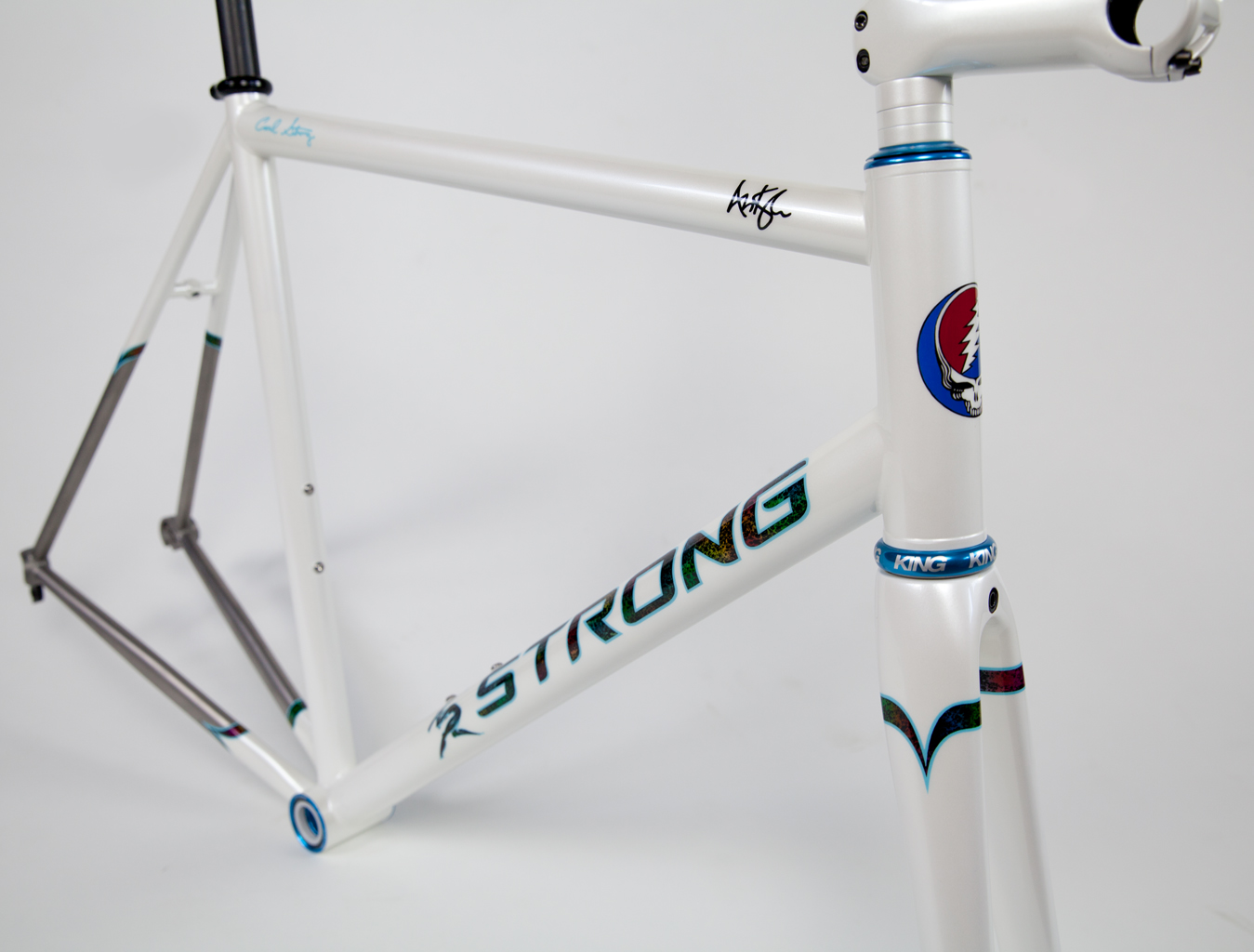 Strong Frames | Andy K - Double Butted Titanium Road bike with Joe ...
