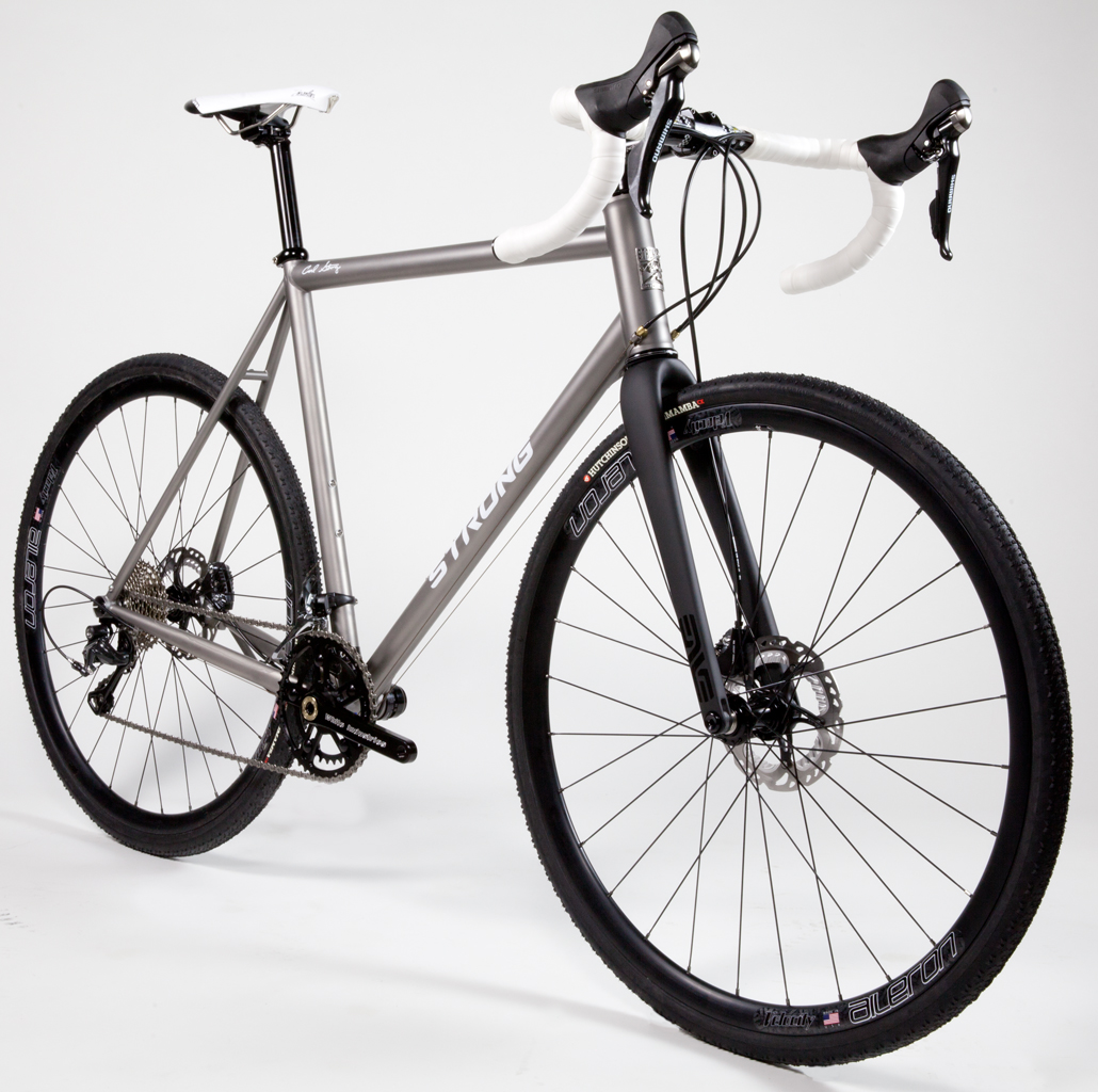 Strong Frames | Titanium Cyclocross, Gravel Grinder