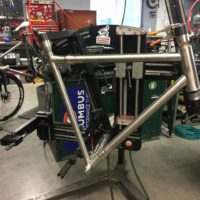 Titanium Road Bike with S&S Couplings