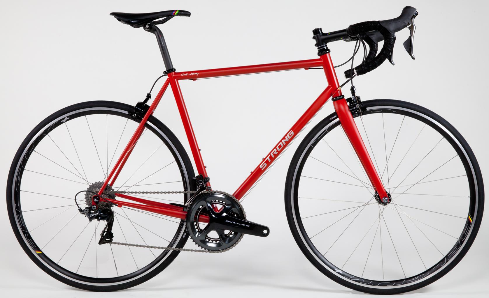 Strong Frames | Bill C - Custom Steel Road Bike