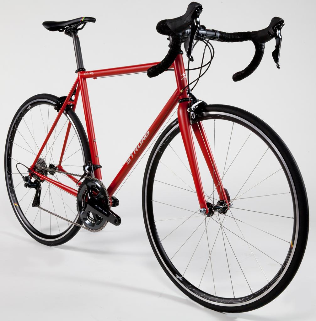Red Painted Steel Wheels