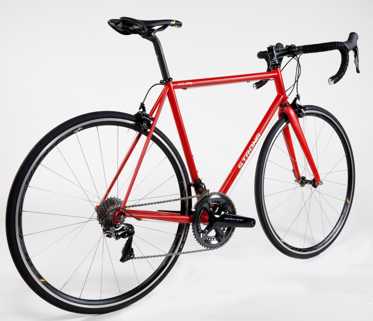Strong Frames | Bill C - Custom Steel Road Bike