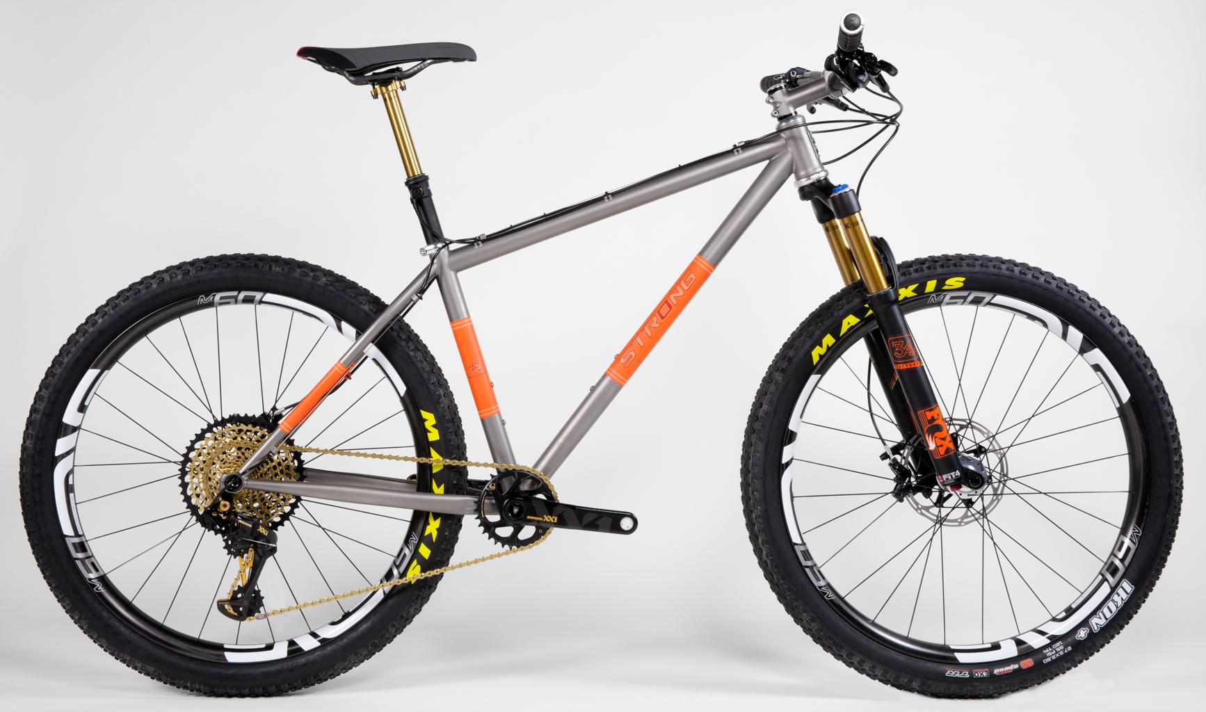 Strong Frames | Daniel K - Custom Titanium 27.5 Plus MTB
