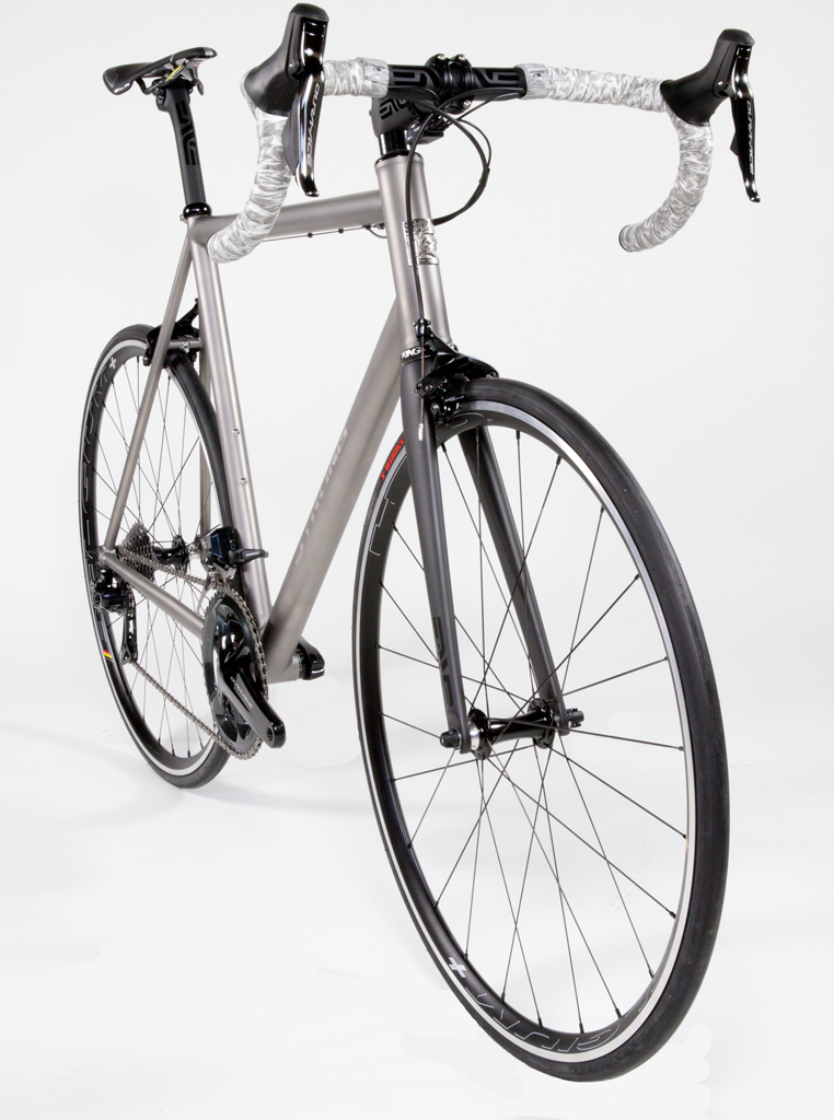 Strong Frames Titanium Road Bicycle With Shimano Dura