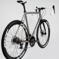 For Sale 2017 NAHBS Show Bike – Titanium Road bike with SRAM Red, Zipp Wheels, Bar, Post and Stem. Pricing and info here.
