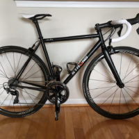 Extralite Steel Road Bike with Dura Ace 9100