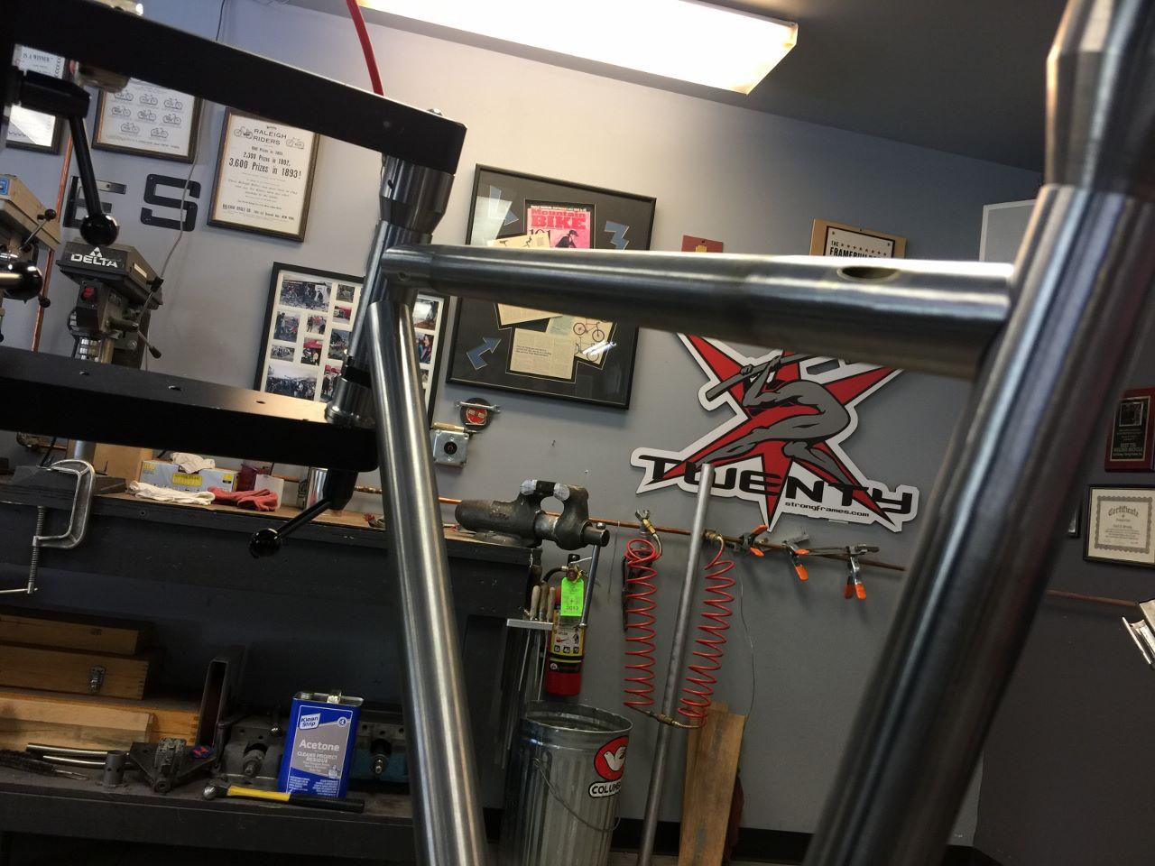 Strong Frames Custom Steel Road Bike