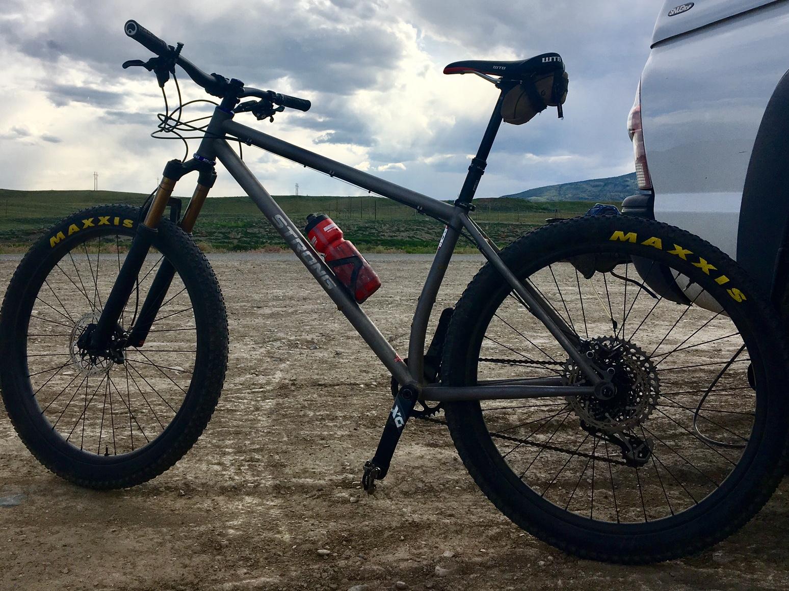 Strong Frames | Ben R - Titanium Mountain Bike 27 5 Plus